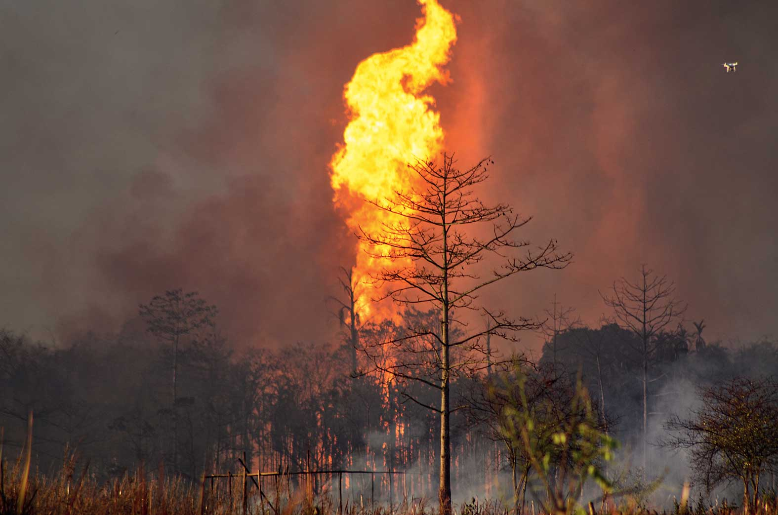 Assam oil well fire burning for 150 days becomes India's longest gas blaze
