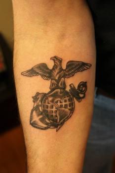 Old Marine Corp symbol