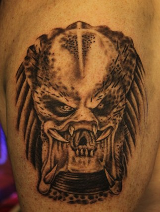 Predator -Tattoo by Delan Canclini
