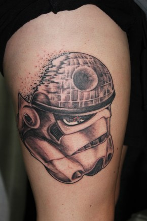 Deathstar Stormtrooper original tattoo