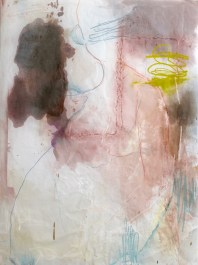 (Not for Sale) Christine Marie - mixed media on vellum - 57x49 inches - 2011