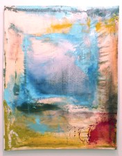 Home - mixed media on canvas - 70x42 inches - 2011