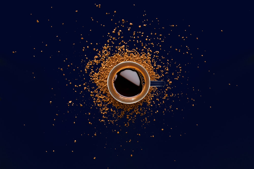 coffee beans dark background spending time alone alone time