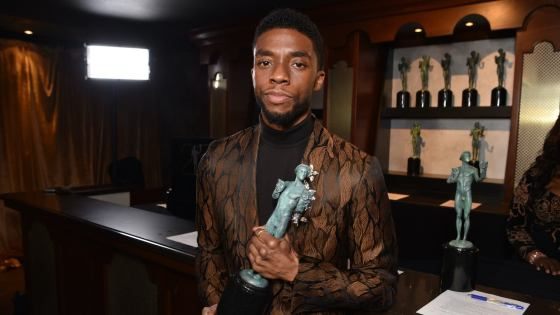 third agreement caveat Chadwick Boseman One day I'll live to tell the story