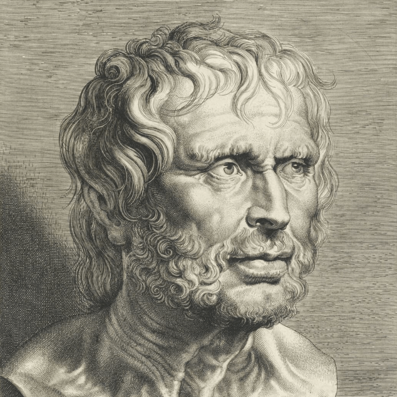 seneca bust from rijks museum in an article about modern Stoicism