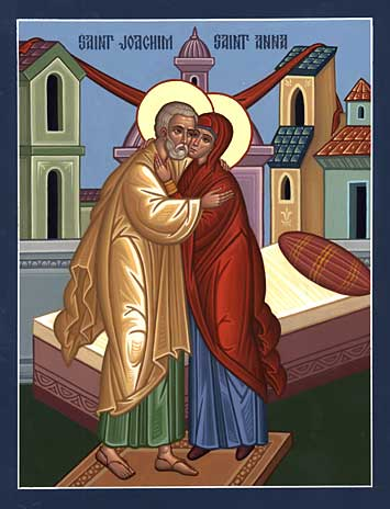 Sts. Joachim & Anna (Conception of the Theotokos)