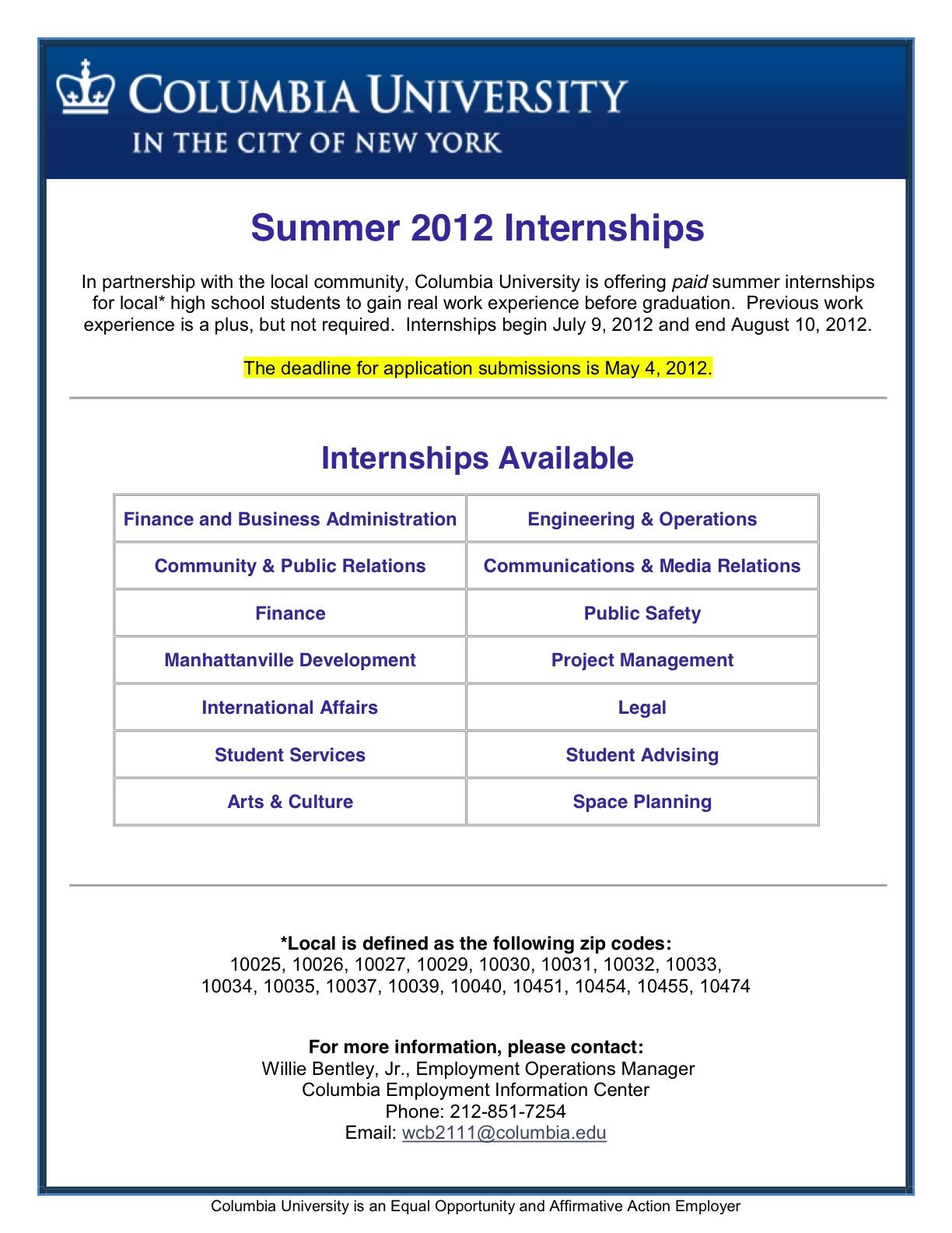 is offering paid internships to high school students theinneru