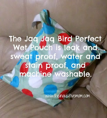 Jaq Jaq Bird Perfect Pouch Review - The Inquisitive Mom