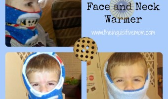 DIY Infinity Face and Neck Warmer Tutorial