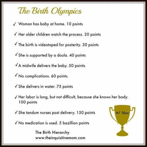 The Birth Olympics