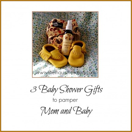 3 Baby Shower Gifts to Pamper Mom and Baby #4thTimeBabyShower