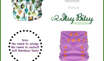Simplee Cloth Diaper Newborn Fit Review, Thanks to Itsy Bitsy Necessities