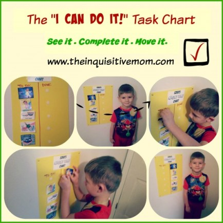 The I Did It Task Chart - The Inquisitive Mom