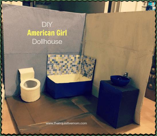 DIY American Girl Bathroom
