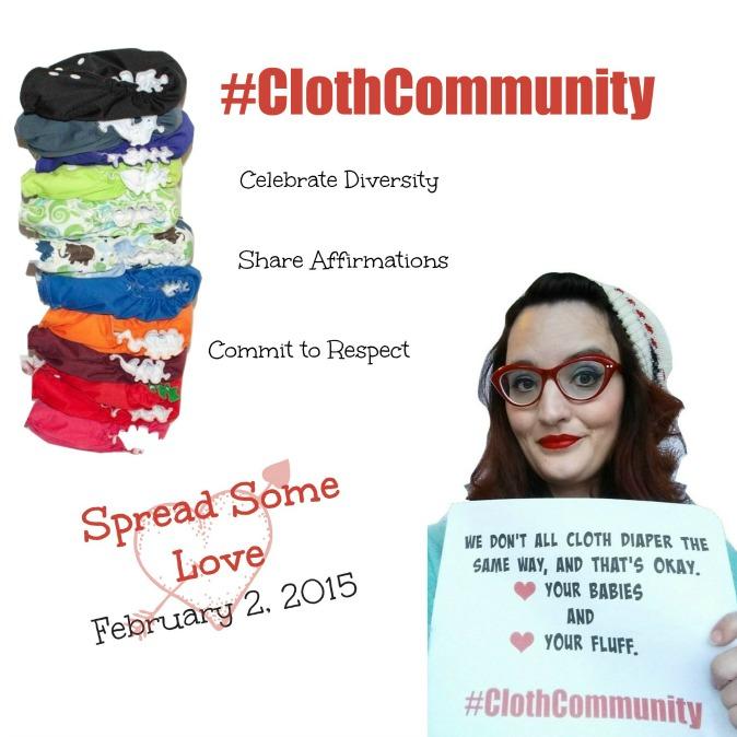 #ClothCommunity Day, Monday February 2nd.