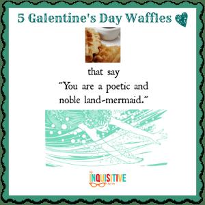 5 Galentine's Day Waffles