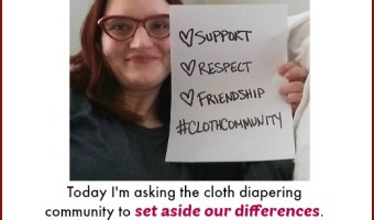 Swimming in the Deep End: Why Cloth Community Day #clothcommunity