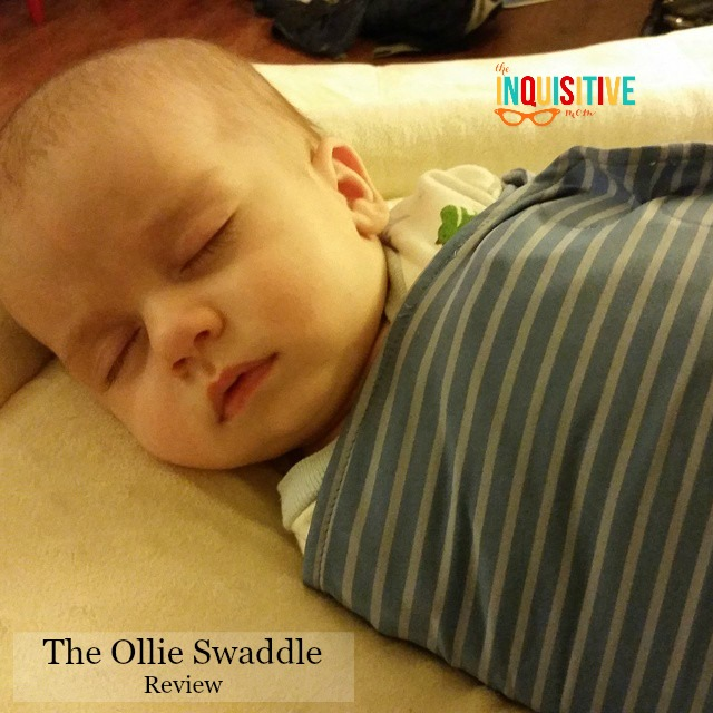 The Ollie Swaddle Review The Inquisitive Mom
