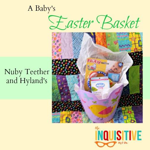 A Babys Easter Basket