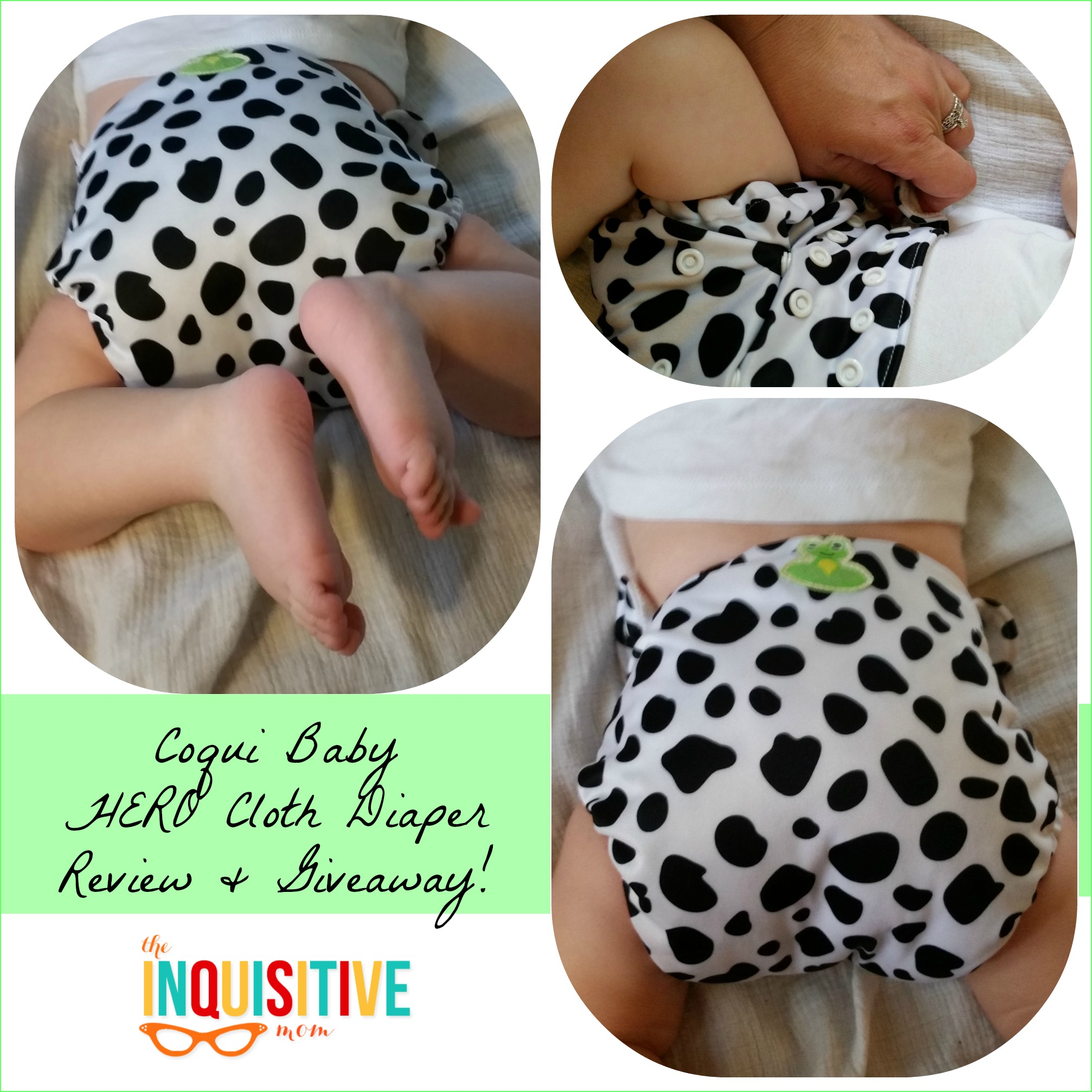 a35543fe8 Coqui Baby HERO Diaper Giveaway and Review! - The Inquisitive Mom