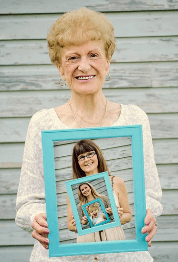 Mother's Day Gift Ideas for Grandma Generations Photo Frame