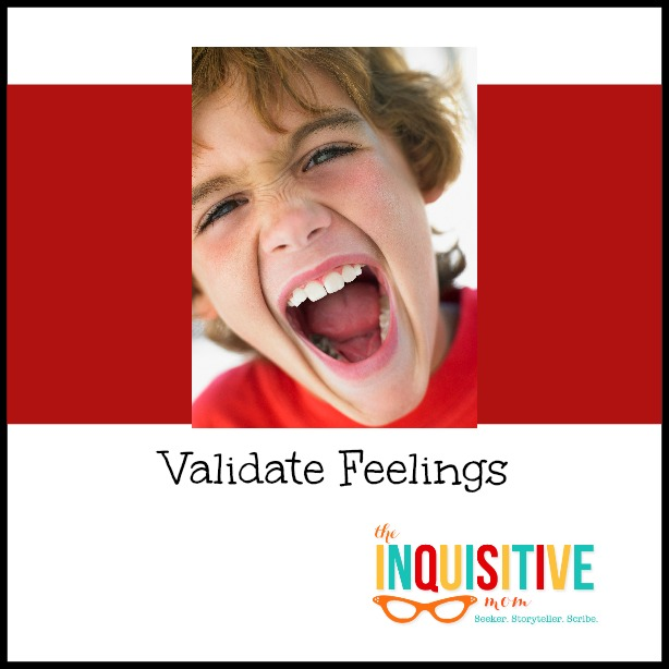 Validate Feelings with an Angry Child.