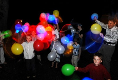 15 Safe Alternatives to Fireworks. Try LED Lit Balloons.
