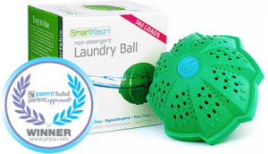 The SmartKlean Laundry Ball from the Eczema Company Review.