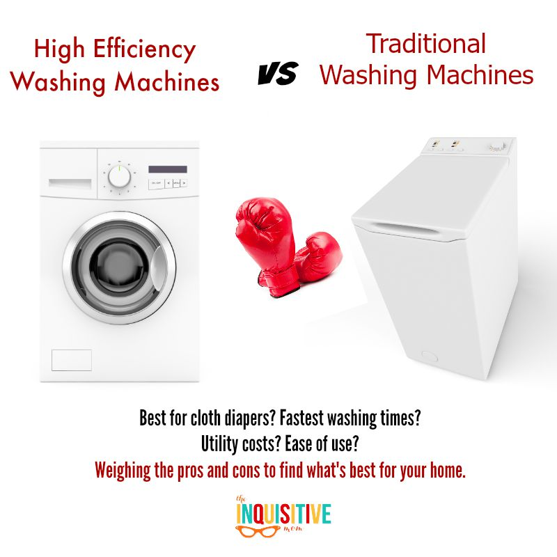 HE Washing Machines vs Traditional Washing Machines - The ...