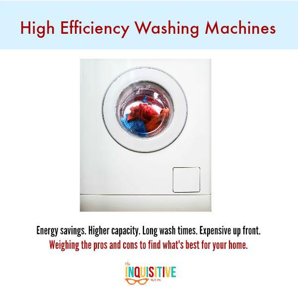He Washing Machines Vs Traditional Washing Machines The