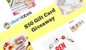 Oliver's Labels Giveaway – $50 GC