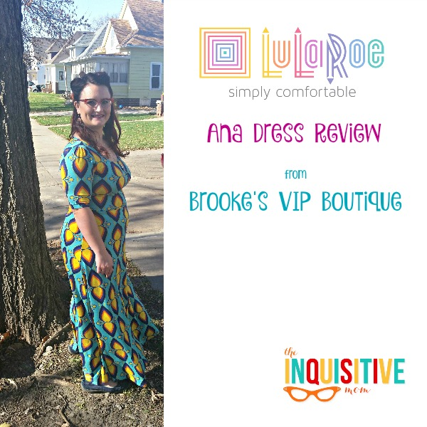 LuLaRoe Ana Dress Review from The Inquisitive Mom