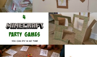 4 Minecraft Party Games You Can DIY in No Time