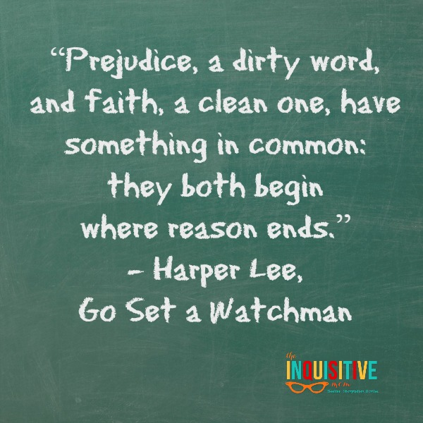 Go Set a Watchman Quote.