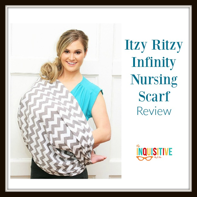 Itzy Ritzy Infinity Nursing Scarf Review
