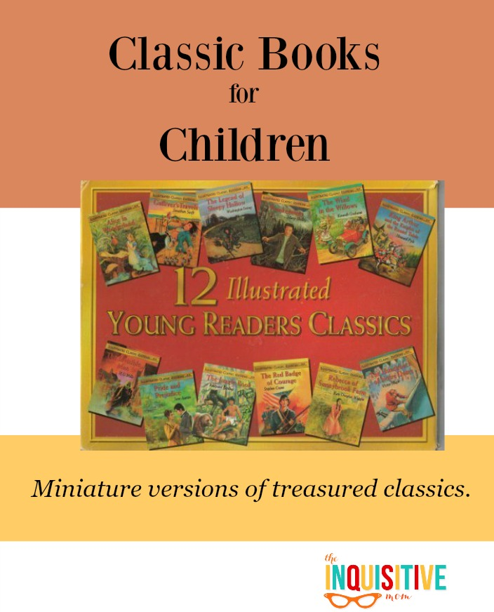 Classic Books for Children. Find miniature versions of treasured classics.