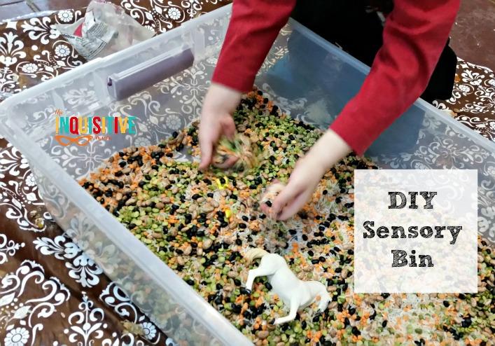 DIY Sensory Bin Add Ins