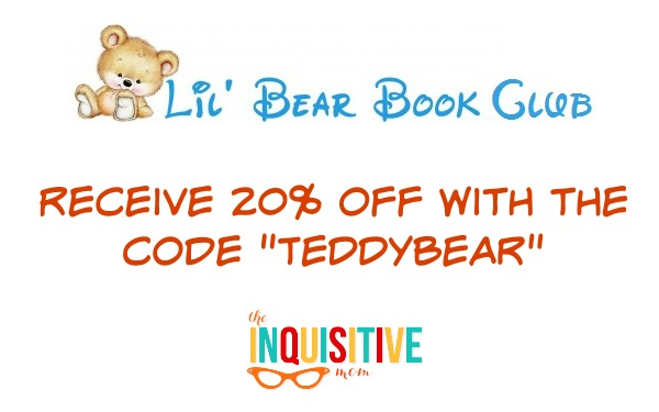 Lil' Bear Book Club Discount Code from The Inquisitive Mom