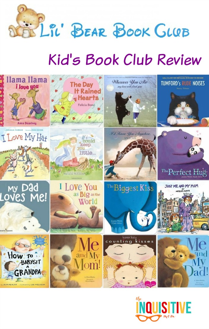 Lil' Bear Book Club Kid's Book Club Review