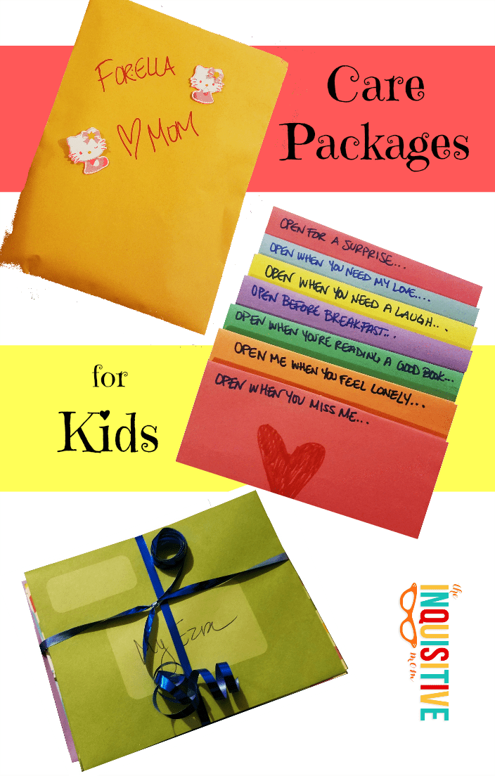 send your love with diy care packages for kids the inquisitive mom