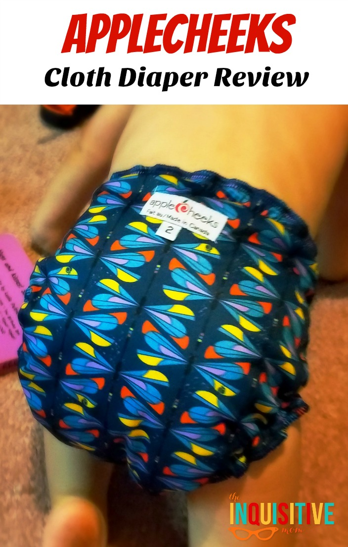 AppleCheeks Cloth Diaper Review from The Inquisitive Mom