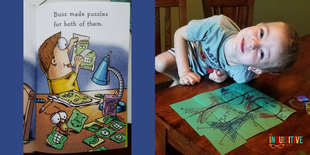A puzzle. Just like Buzz and Fly Guy!