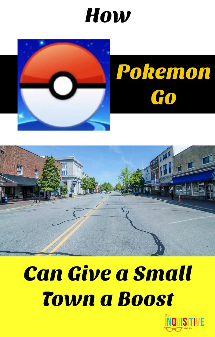 Support a Small Business with Pokemon Go by visiting a small town.