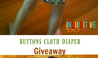 Buttons Cloth Diaper Giveaway