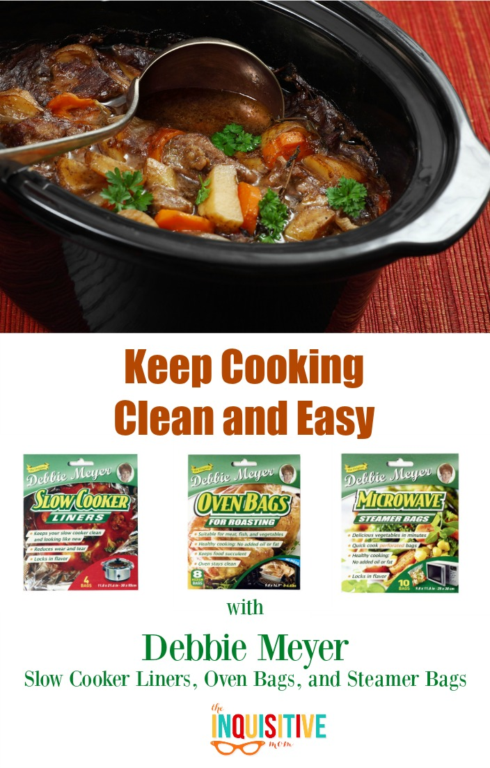 Keep Cooking Clean and Easy with Debbie Meyer