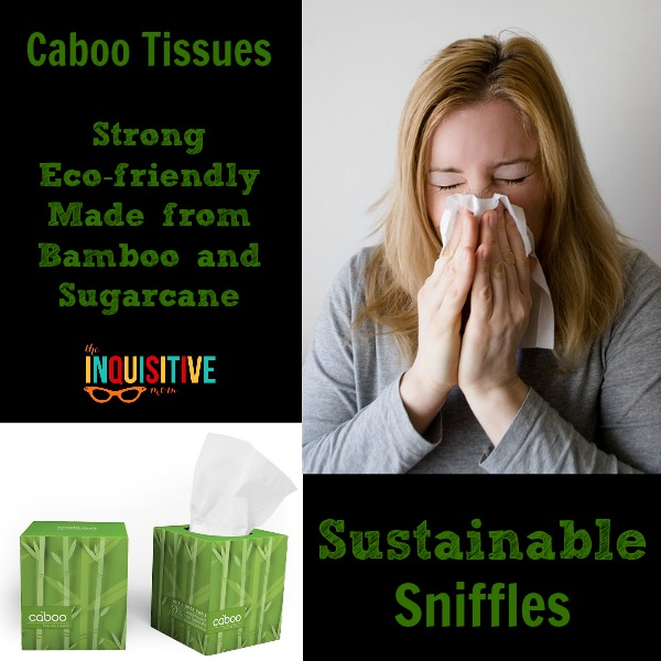 Sustainable Sniffles with Caboo Tissues. Switch to Sustainable paper products.