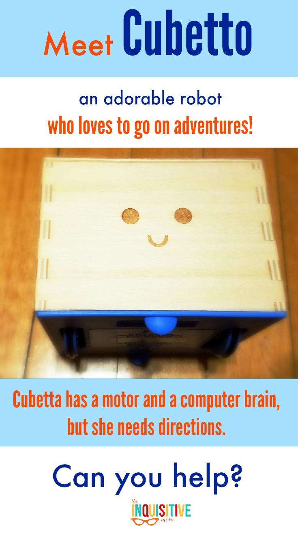 Meet Cubetto, Primo's programming STEM toy.