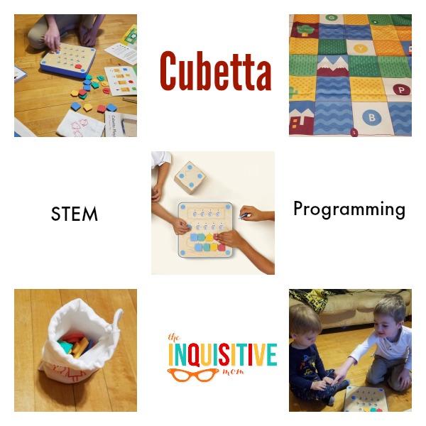 Programming fun with the Cubetta STEM toy