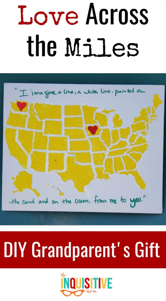 Love Across the Miles DIY Grandparent's Gift