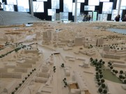Model inside the Ministry of Urban Planning and Environment Office